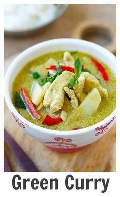 Thai Green Curry  d Thai Green Curry  delicious and easy green...  Thai Green Curry  d Thai Green Curry  delicious and easy green curry with chicken. Making green curry is so easy and takes only 20 min and much cheaper than eating out | rasamalaysia.com Recipe : http://ift.tt/1hGiZgA And @ItsNutella  http://ift.tt/2v8iUYW