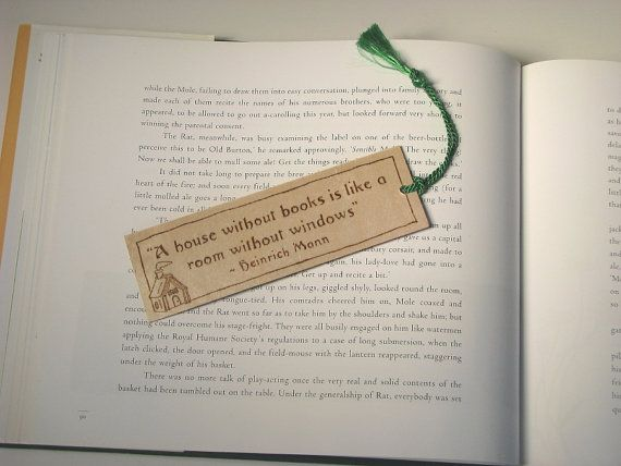 Wooden bookmark  pyrography  bookmark with Heinrich by bkinspired, $6.50