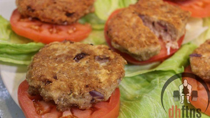 TUNA Pancakes Recipe (Healthy + Cheap)