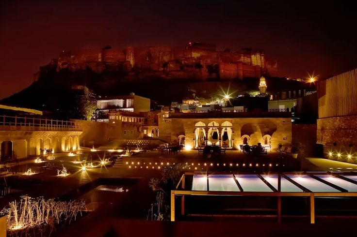 A subtle view of the #MehrangarhFort from #Raas #Jodhpur #Rajasthan! A perfect #RareIndia #DelhiGetaway!   #Explore More: http://bit.ly/1qNsvKP