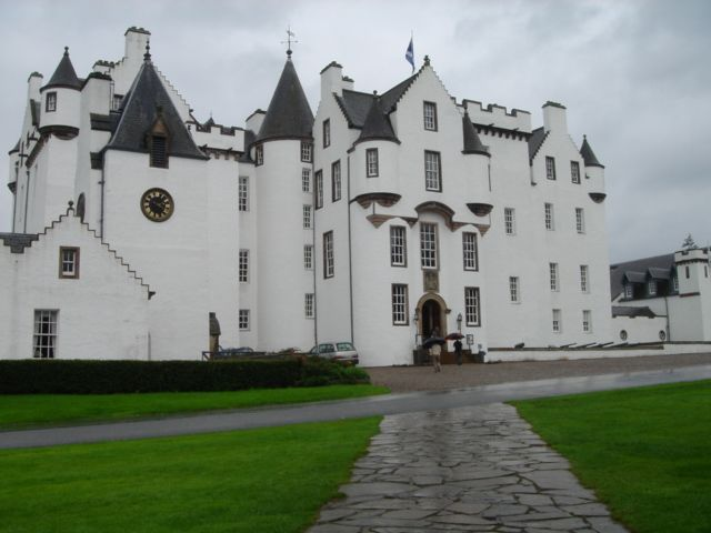 images of robertson castles scotland | After my visit there, I went down the road a bit to Blair Castle.