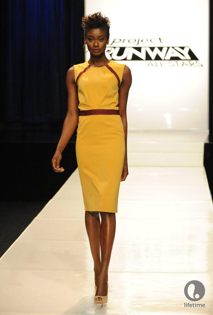 Design by Emilio Sosa #PRAllStars Season 2 #MakeItWork #Fashion #ReadyToWear