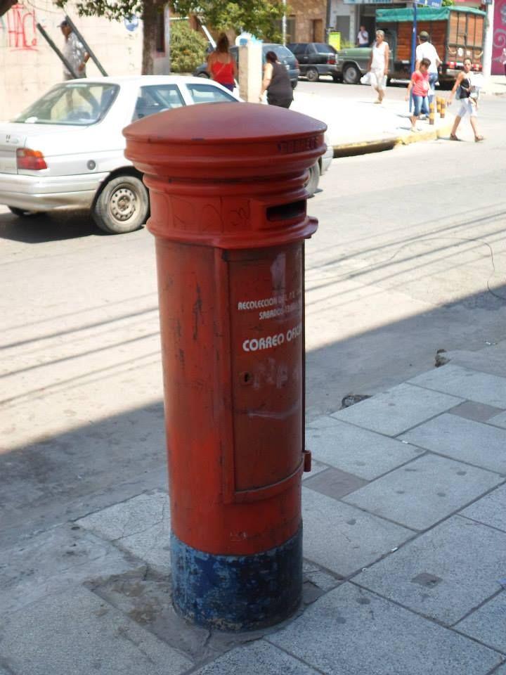 El antiguo y único Buzón de correo Argentino que queda en toda la ciudad de Gregorio de Laferrere