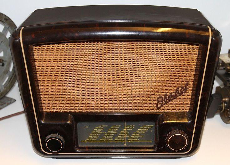 "Röhrenradio ""Oberhof"" Stern-Radio Sonneberg 43/52 GWP - OK ! | eBay"