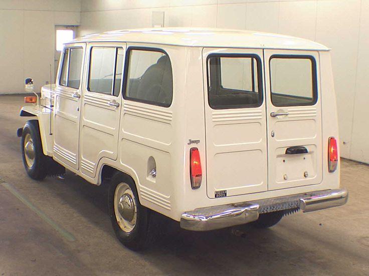 Mitsubishi jeep, 1973