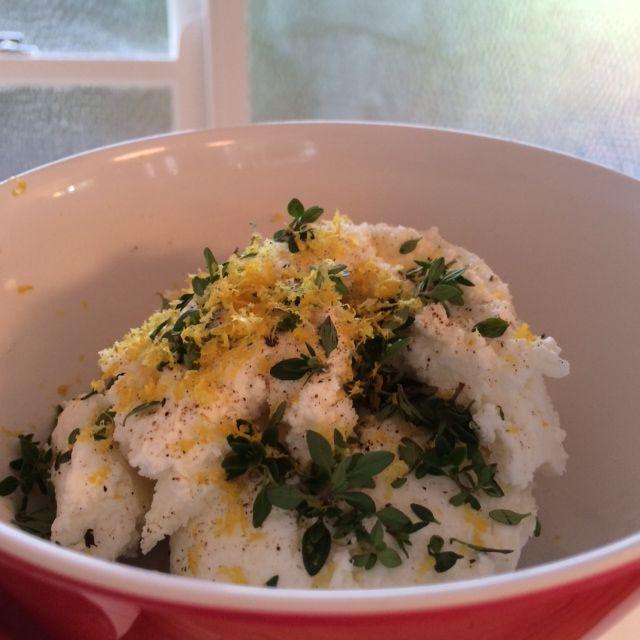 Ricotta stuffing (for zucchini flowers, for making ricotta gnocchi, for stuffing conchiglioni)