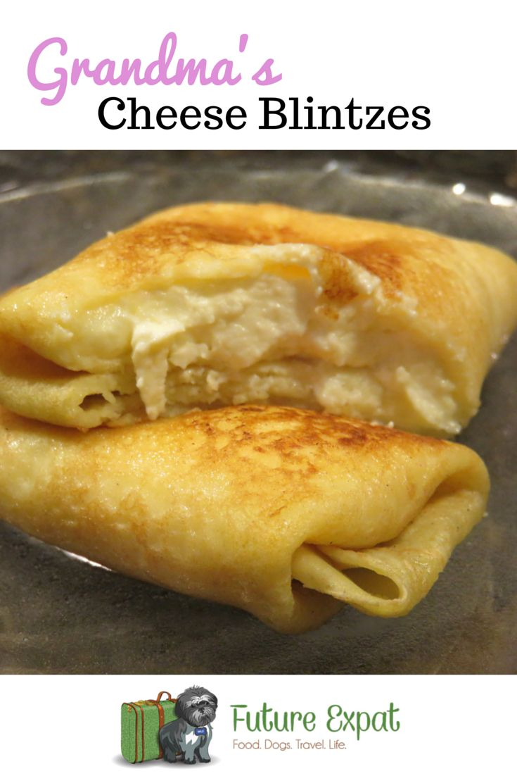 While I've ordered cheese blintzes over the years while dining out at a Jewish deli and even tried the frozen ones you can buy at the grocery store, nothing compares to the cheese blintzes...