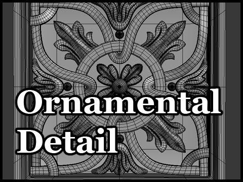 3D Modeling Tutorial #91 - Modeling Ornamental Detail - Part 2 In this video I'll show you how to use 3D Studio Max to model ornament details. Reference: htt...