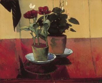 Enlarge, zoom, and pan		Still Life with Flowers,	1887  Émile Bernard  French, 1868-1941 Oil on canvas 19-3/4 x 24 in. (50.2 x 61.0 cm) Norton Simon Art Foundation, Gift of Jennifer Jones Simon
