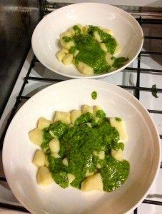 T4B 011: Thermomix Gnocchi, Sweet Potato Experiment, Arrabbiata Sauce, Pesto & Sage Butter - The 4 Blades