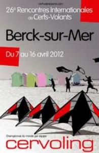 Rencontres internationales de cerf volant à Berck