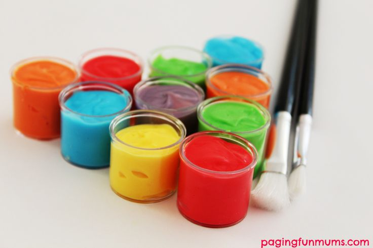 Homemade Face Paint… using only 3 ingredients!