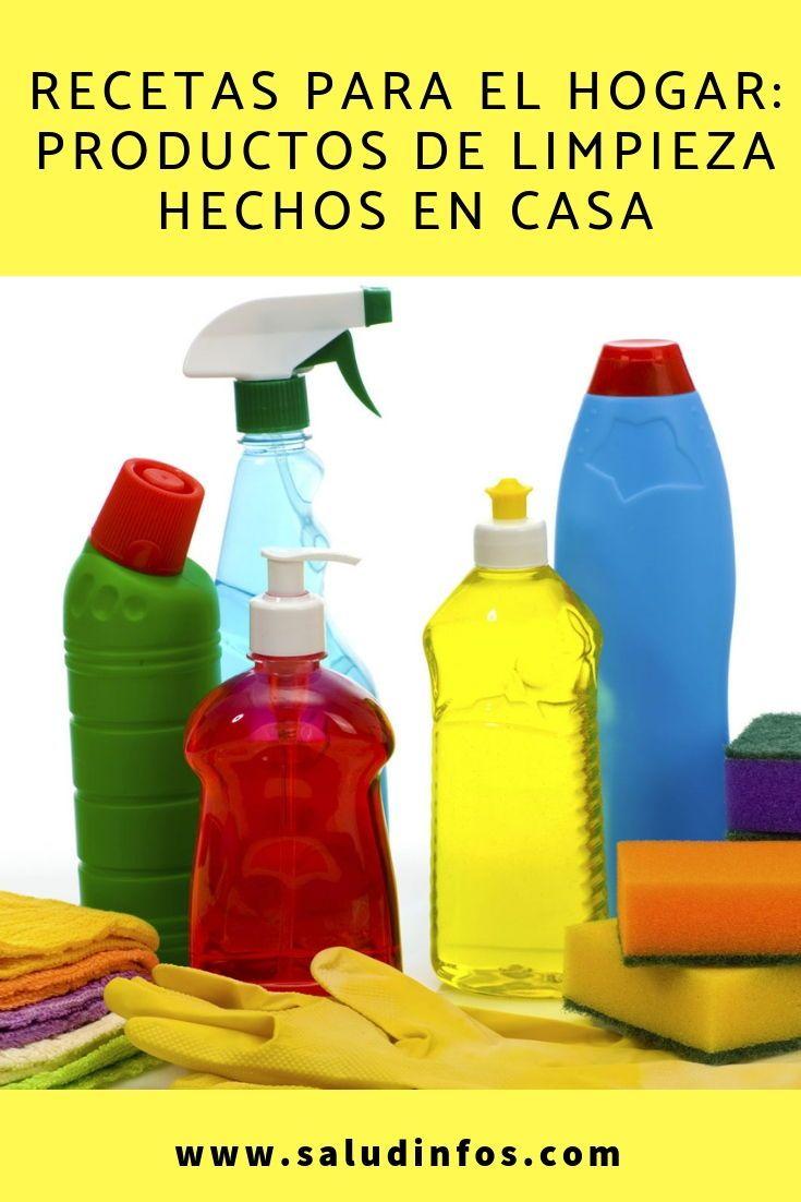 Recetas Para El Hogar Productos De Limpieza Hechos En Casa Productos Limpieza Casa Cleaning Cleaning Supplies Spray Bottle