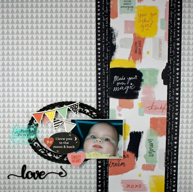 Just too Obsessed: Love you to the moon and back - Scrapmatts.....