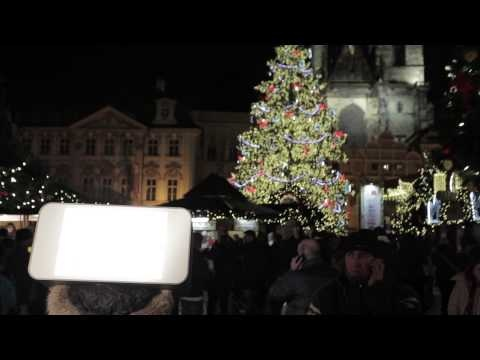 HALLA TREND in the streets of Christmas #Prague. Happy New Year 2013