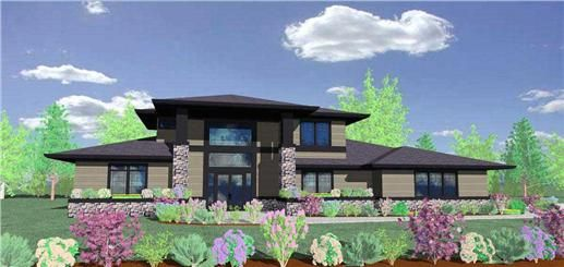 The M-4455 was built on Extreme Makeover Home Edition in Wyoming.  From one of our premier designers, he has two other house plans used by ABC in their hit show Extreme Makeover Home Edition.