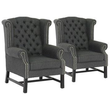 Wholesale Interiors Baxton Studio Chair Set Of