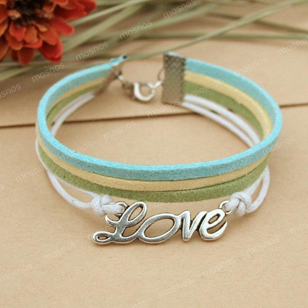 Bracelet-Love charm bracelet