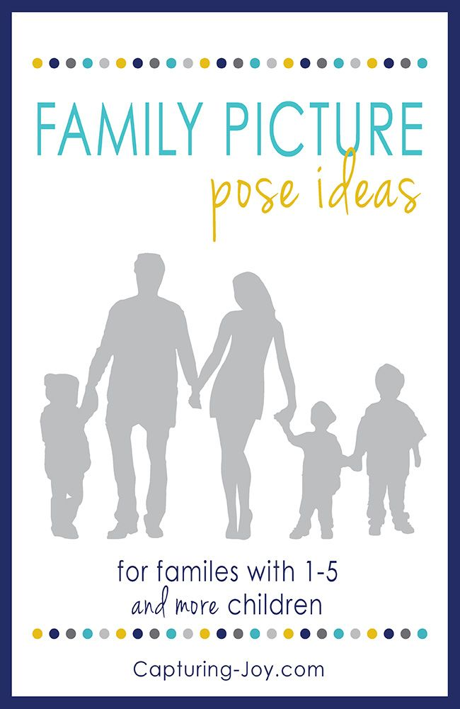 Family photography posing ideas. It's time to take family pictures again!