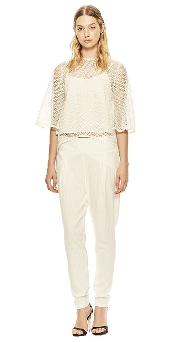 Cooper St Missing You Now White Lace Top