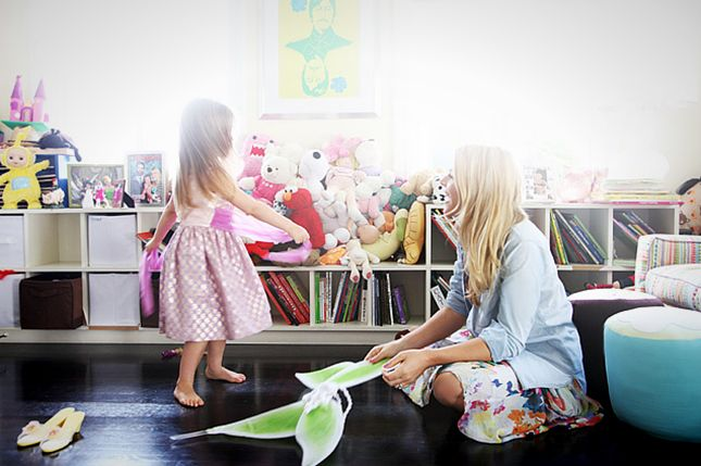 """Busy Phillips: Another DIY mama on the list, Busy says that she and daughter Birdie are """"really into arts and crafts."""