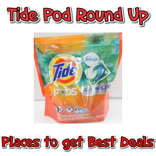 Tide Pod Coupon + Stores to get best Deals this week - http://couponsdowork.com/coupon-deals/tide-pod-roundup-dealios/