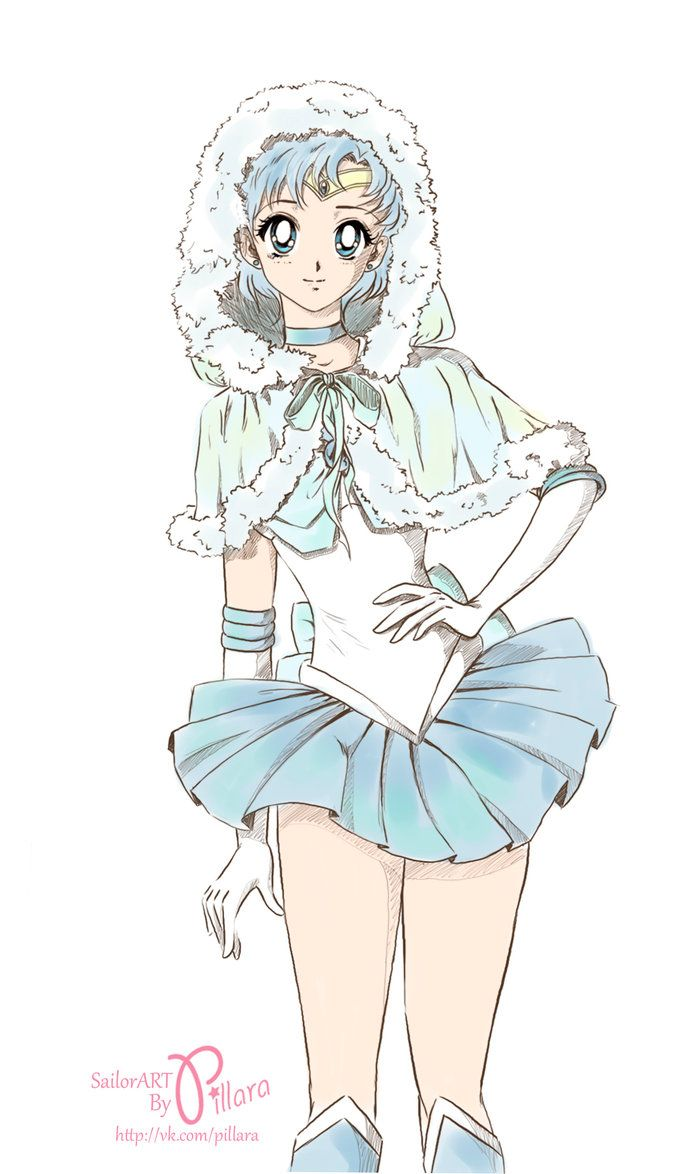 New Year Sailor Mercury by Pillara on DeviantArt