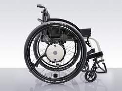 2014 will see the launch of the Alber twion, a remarkable new wheelchair power add-on and a new concept in the market. Invacare will be showcasing a prototype model of this new product at their Naidex 2013 mobility stand B130. The twion is lifestyle oriented and aimed at the more mobile wheelchair driver. The twion also features smartphone connectivity and with the Virtual Joystick, the wireless remote control allows you to drive an empty wheelchair remotely.