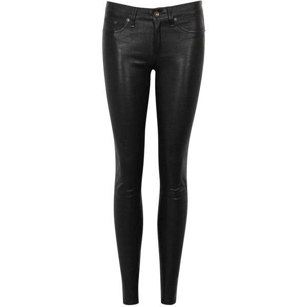 1000  ideas about Leather Skinny Jeans on Pinterest | Leather