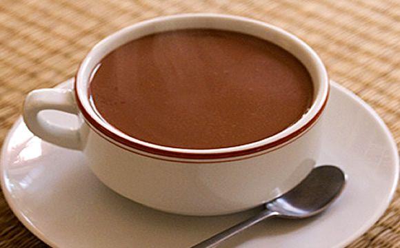 Receita de chocolate quente para a fase cruzeiro PL da dieta dukan.