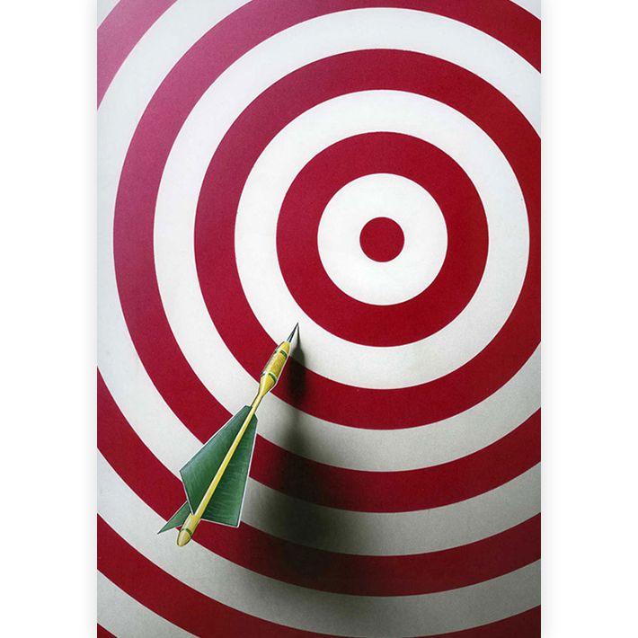 Target, cible illustration