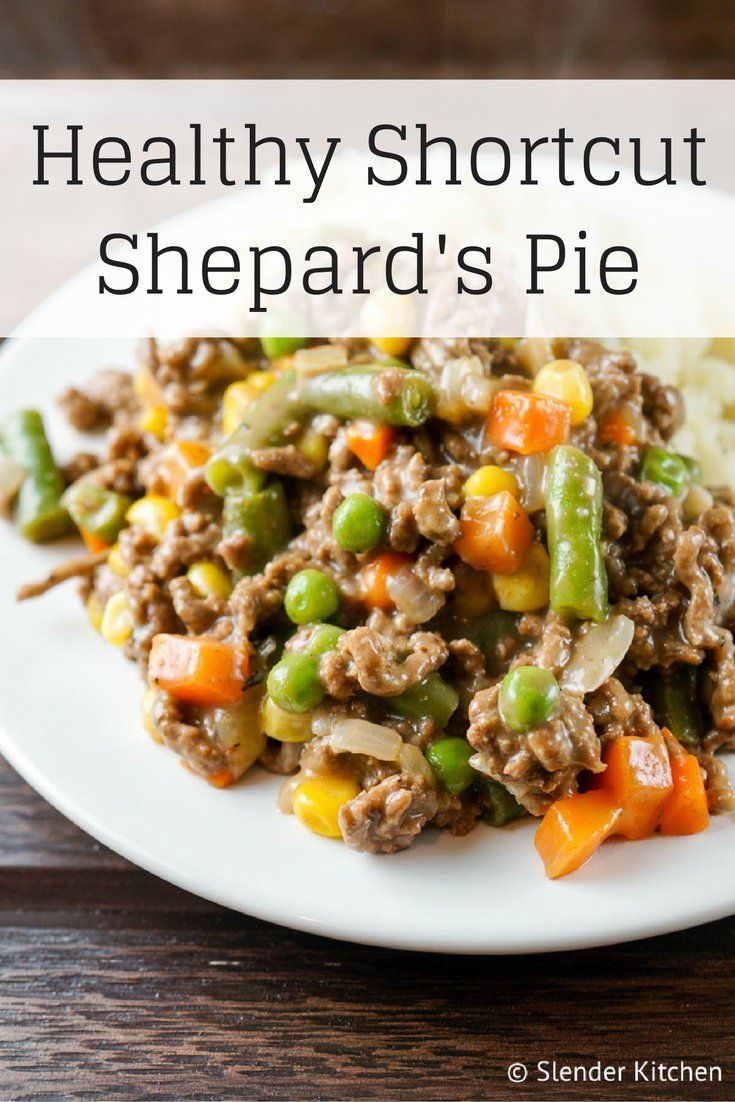 This Healthier Shortcut Shepard's Pie is full of flavor and ready in about 15 minutes. Paired with your favorite mashed veggies and you have a hearty meal everyone will love.This time of year I am...