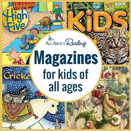Magazines for Kids of All Ages | All About Learning Press