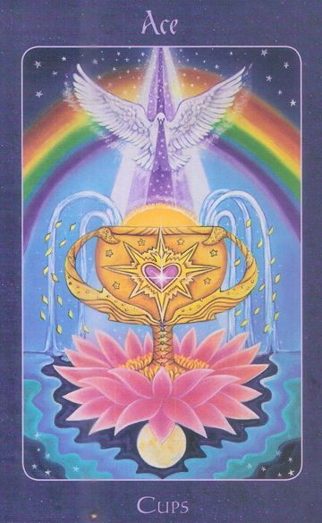 Ace of cups Star Tarot   OC    amatea mondes   Star tarot