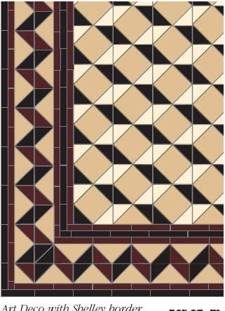 Art Deco Flooring Victorian Floor Tiles Art Deco