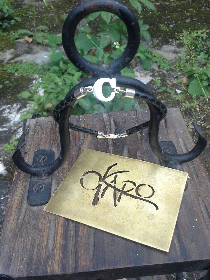 #pulsera #pulseracuero #iniciales #inicial #accesorios #cueros