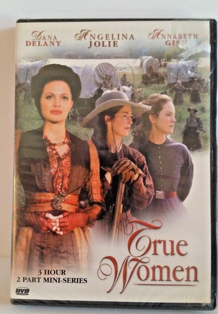Complete 3 Hour Tv Mini Series Dvd True Women Angelina Jolie