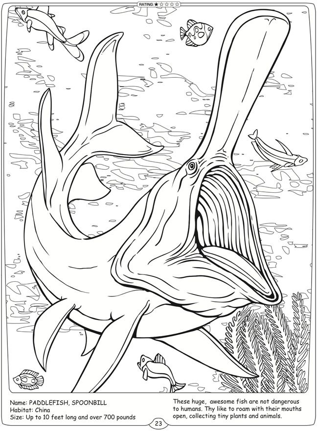 sea monster coloring pages - photo#22