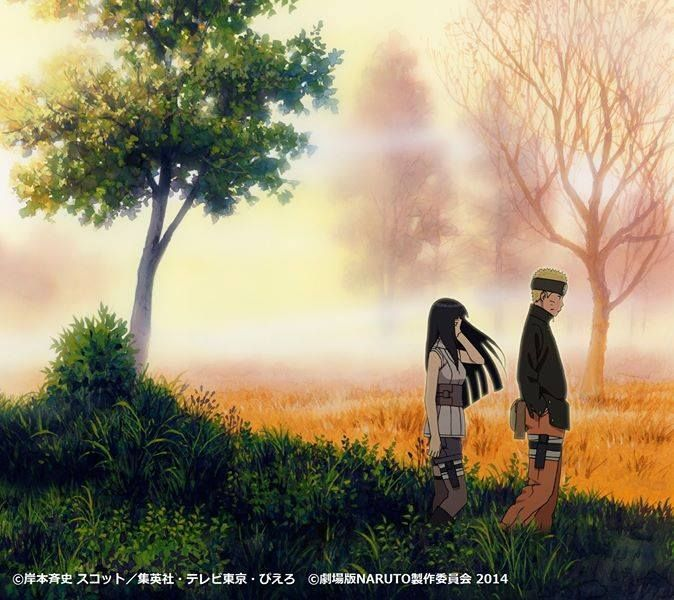 here it is , cover album soundtrack naruto the last! naruhina would be center story in this movie. kyaaaaaaaaa
