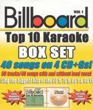 Billboard Top 10 Karaoke, Vol. 1 [CD]