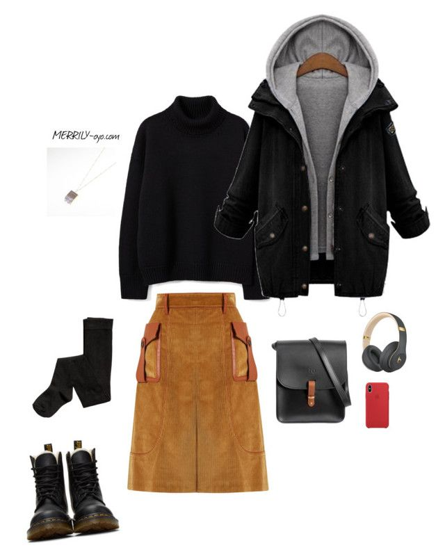 fashion by yumiko-merrily on Polyvore featuring ファッション, Prada, Dr. Martens, N'Damus and Beats by Dr. Dre