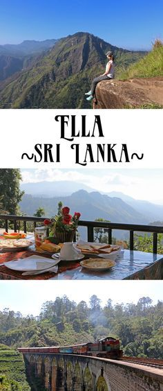 Ella, Sri Lanka (Little Adam's Peak, Ella Gap, Nine Arches Bridge)