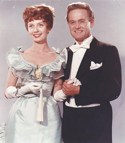som Lone Hornemann, i Charles tante fra 1959. (her sammen med Ove Sprogøe)