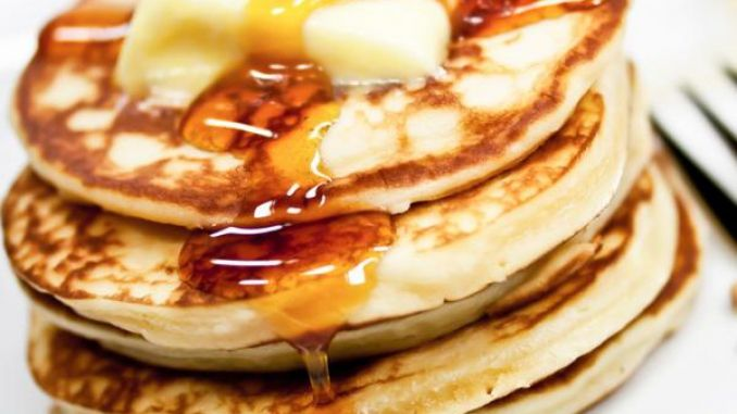 American Pancake Rezept (Baking Eggs Brunch)