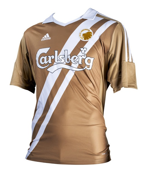 Special: FC Copenhagen Gold Kits 2013 to celebrate 10th league title