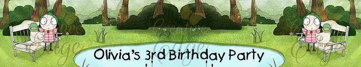 Sarah and Duck Personalised Water Bottle Label by MyCreatve3dge on Etsy