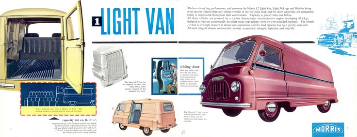 1958 Morris Type J2 Light Van