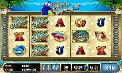 Have you ever played any of the slots from Bally? If not, the #AlohaIsland is a good one to start with as it has a #great look and features. It has some highly #detailed and #colourful symbols which include shells, parrots, fish and boats.  When you are ready to play, you can place bets to activate fifty fixed win lines.