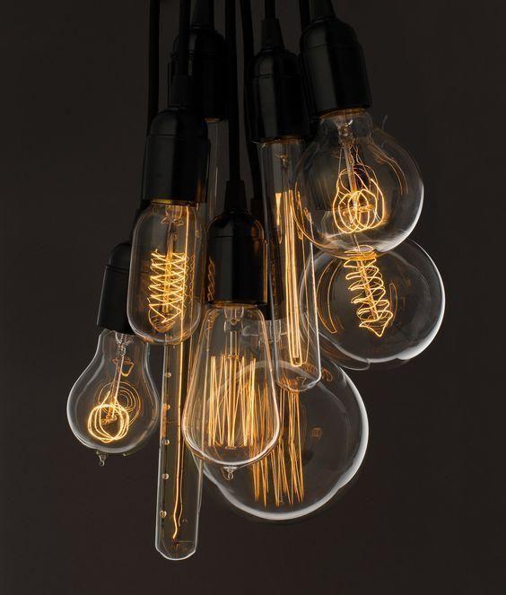 Retro Vintage Edison Bulb Room decor Pinterest Lighting