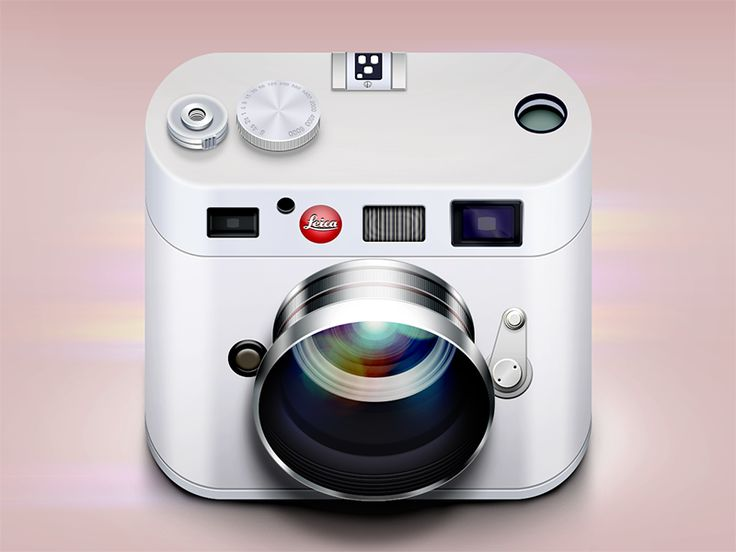 leica icon 30 Highly Skeuomorphic Icon Designs With Incredible Detail